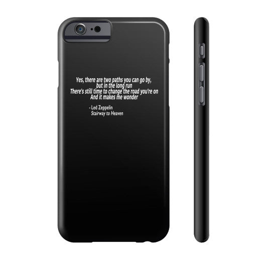Led Zeppelin's Stairway to Heaven Phone Case  Robert Klein
