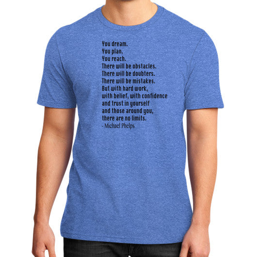 Phelps Inspiration District T-Shirt Heather blue Robert Klein