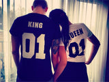 King and Queen Couples T-shirts