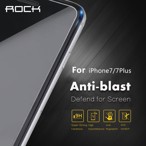 ROCK Premium Tempered Glass Screen Protector For iPhone 7/ 7 plus