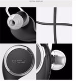 Neckband Over The Ear Headphone Bluetooth Earphone Headset Sport Running Music Wireless Earphones with Microphone QCY QY8 for iPhone 6 and IPhone 7