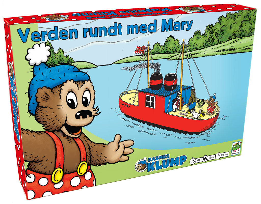 Rasmus Klump - Verden rundt med Mary - Rasmus Klump Shop