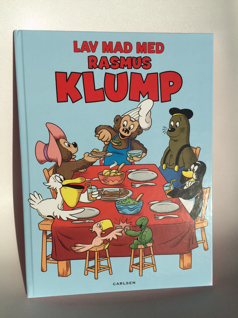 Lav mad med Rasmus Klump bog - Rasmus Klump Shop