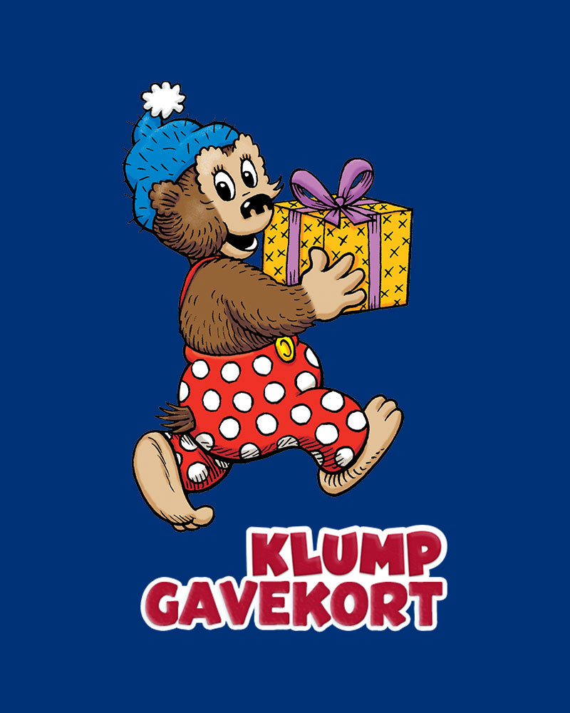 Gavekort - Rasmus Klump Shop