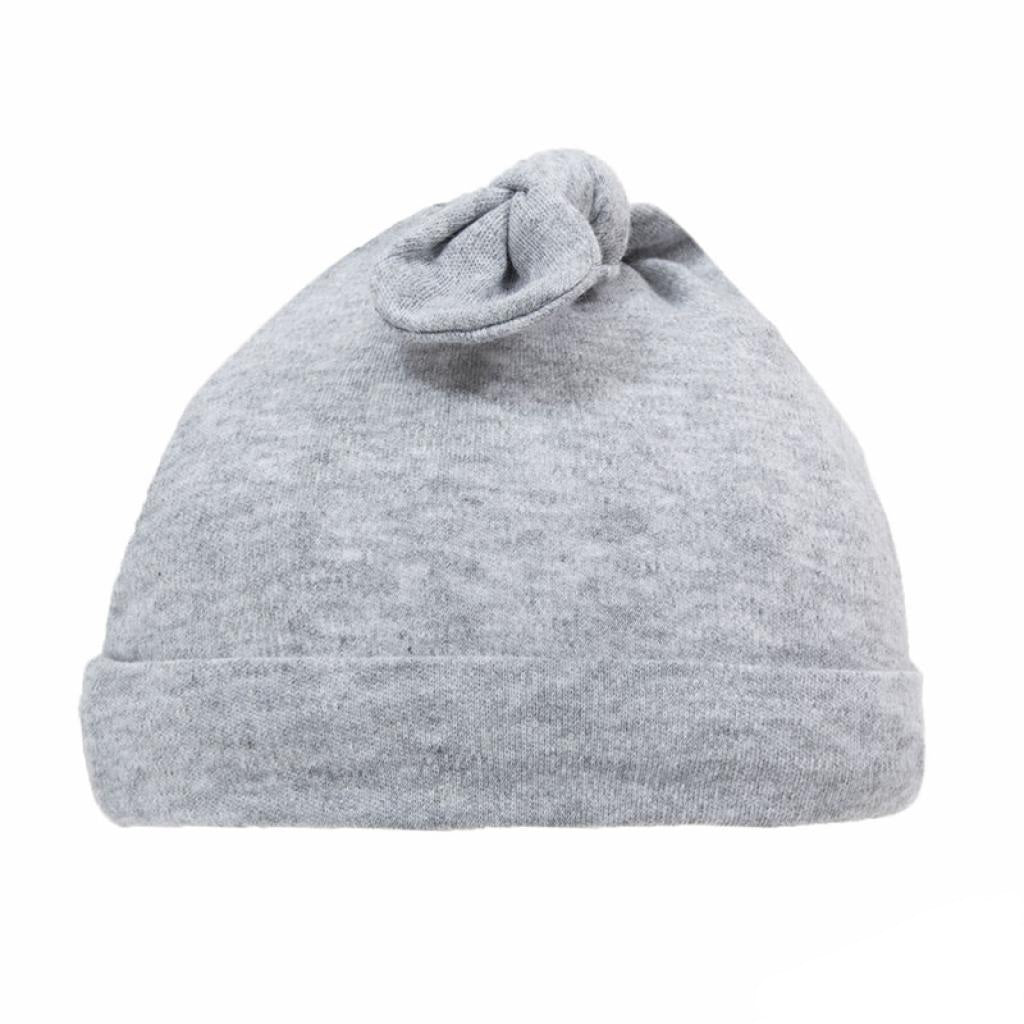 Grey Knot Hat