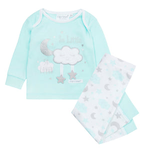 Baby girl Pajamas in Mint