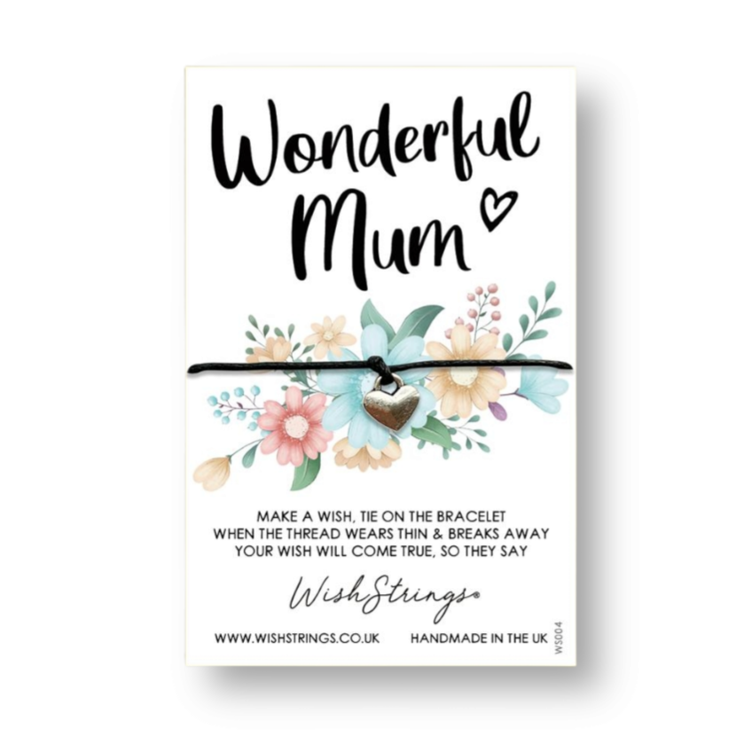 Wonderful Mum WishStrings Wish Bracelet
