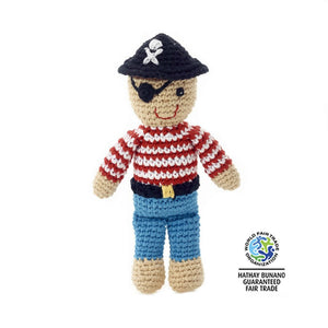 Pirate Crochet Rattle