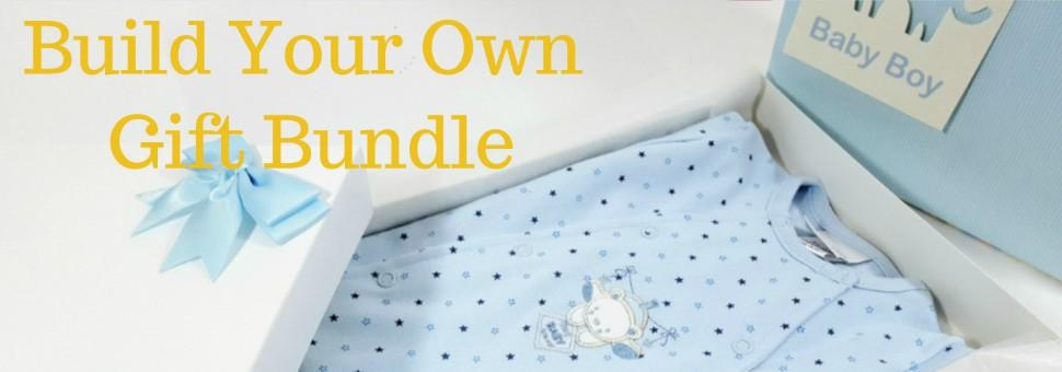 Buildy your own baby gift bundle