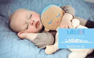 Lulla doll at the LA Baby Show