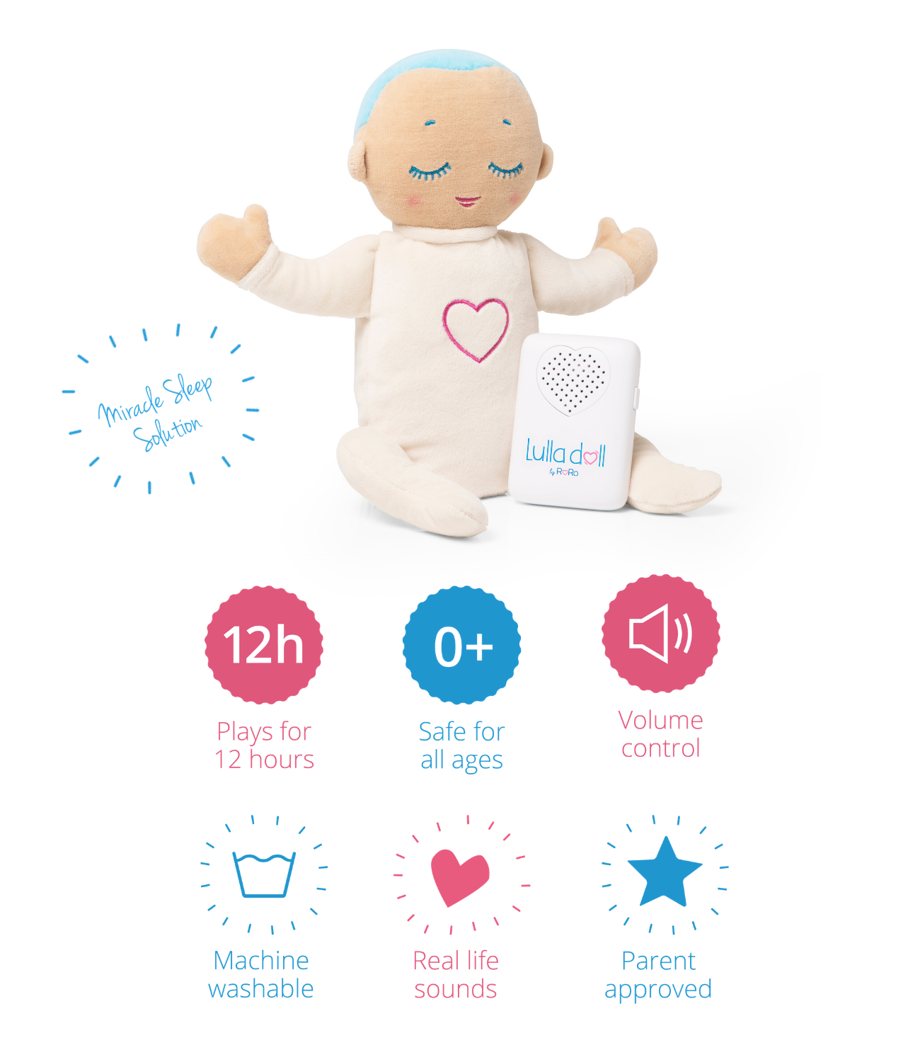 Lulla doll is the best sleep aid for babies