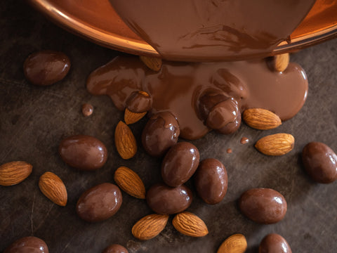 Almonds - Milk Chocolate
