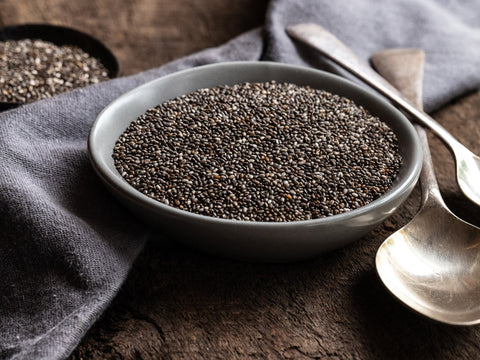 Chia Seeds - Black Organic