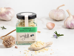 Garlic Salt - Rosemary - Weyhill Farm Gippsland - 150g