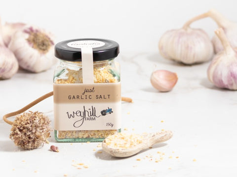 Garlic - Just Garlic - Weyhill Farm Gippsland - 150g