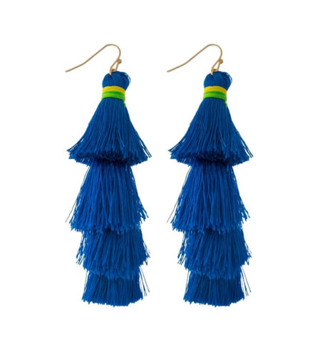 Belize Tassel Earrings - Chic Society Boutique