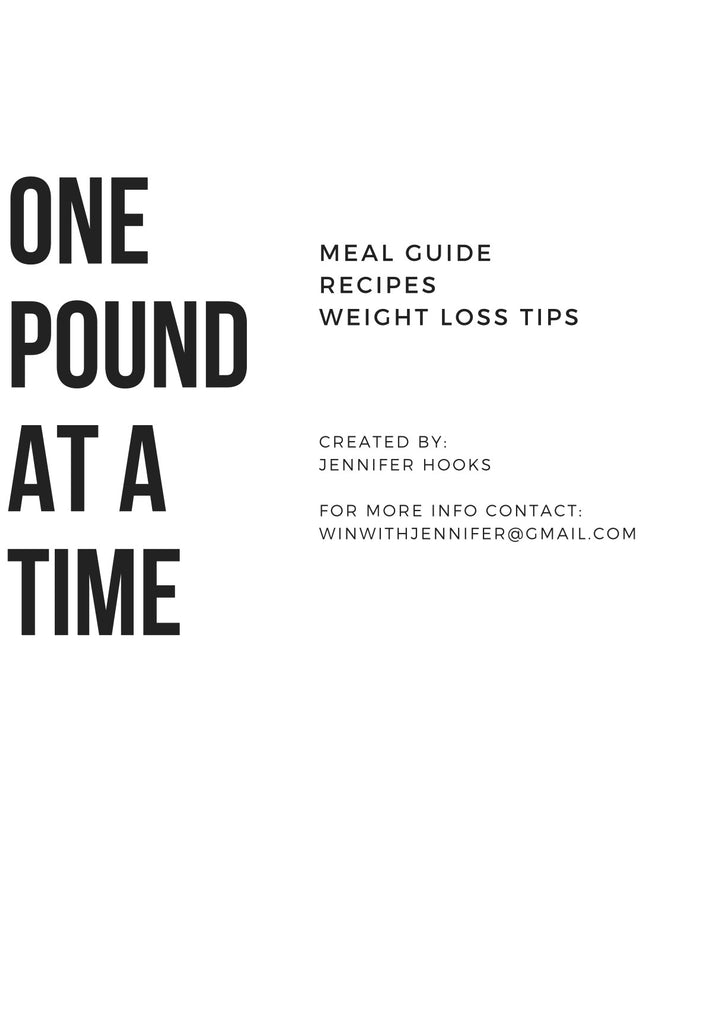 One Pound at a Time E-Book - Chic Society Boutique