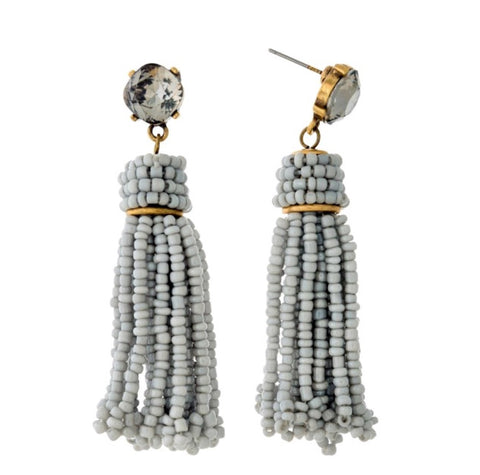 Iman Tassel Earrings