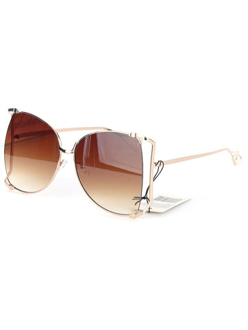 Dinero Sunglasses (Brown) - Chic Society Boutique