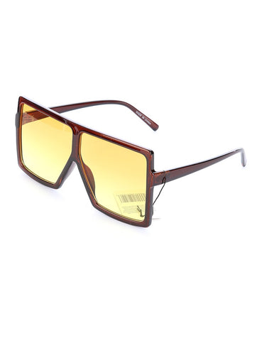 Harlem Sunglasses (Brown) - Chic Society Boutique