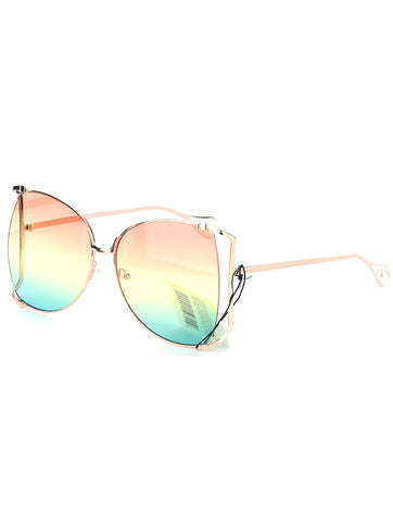 Dinero Sunglasses (Ombre) - Chic Society Boutique