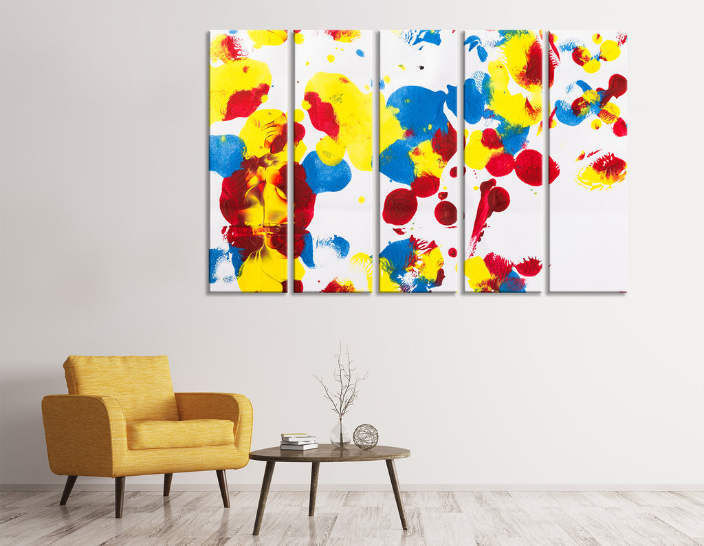 Bright Colorful Abstract №04388 Ready to Hang Canvas Print