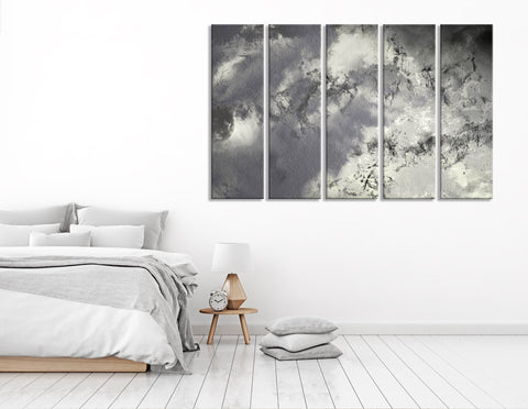 Rainy Sky Abstract №04368 Ready to Hang Canvas Print