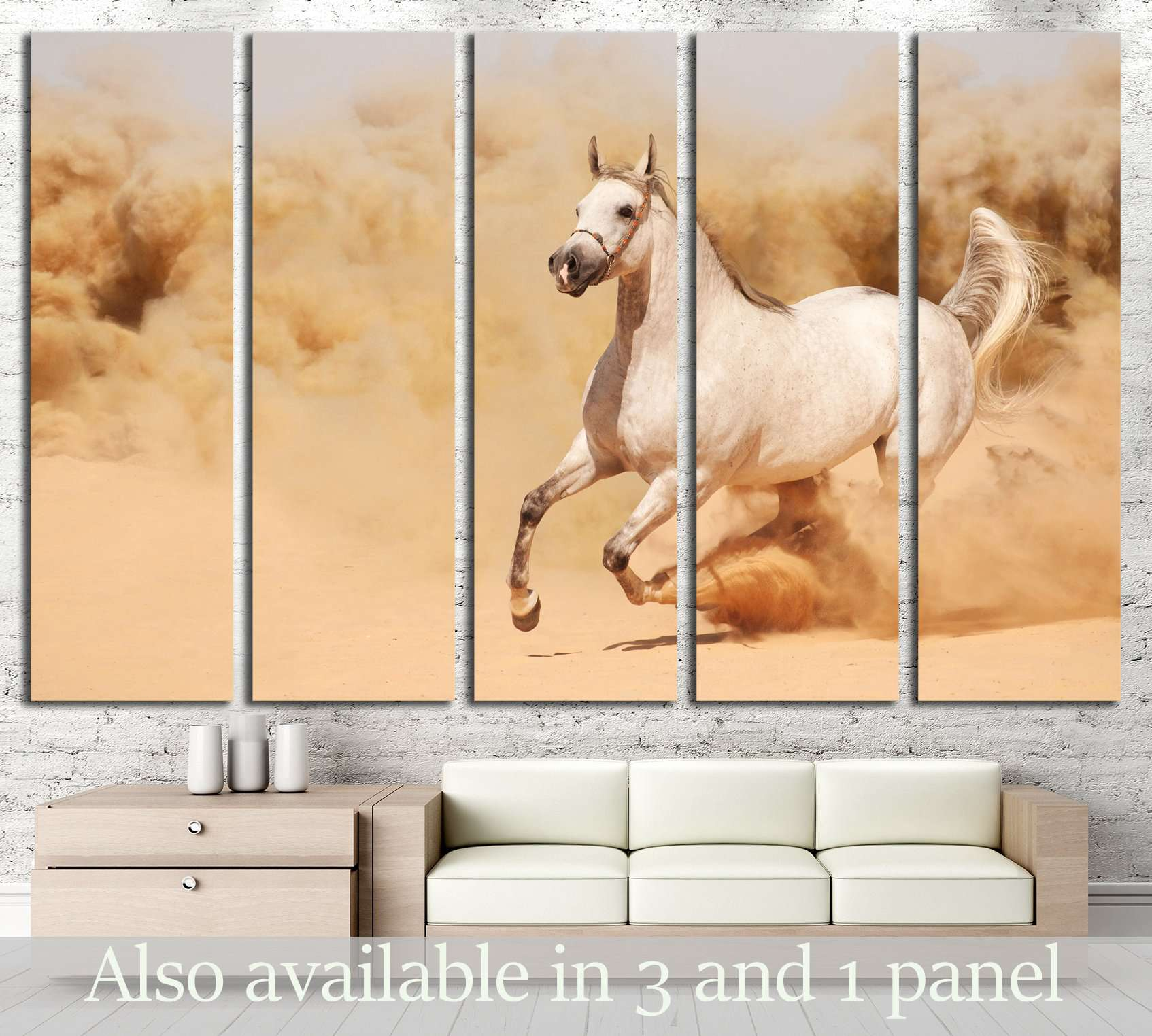 Awesome Horse Canvas Wall Art Gallery - The Wall Art Decorations ...