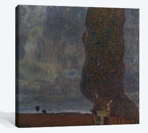 Approaching Thunderstorm (The Large Poplar II), 1903 - Ready to Hang Canvas Print