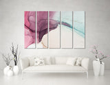 Pink Orchid Abstract №04275 Ready to Hang Canvas Print