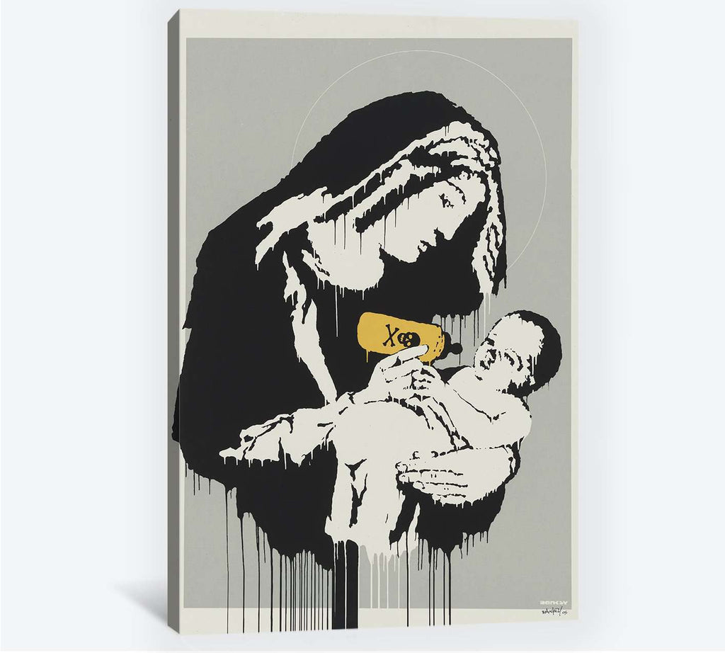 Banksy Virgin - Canvas print