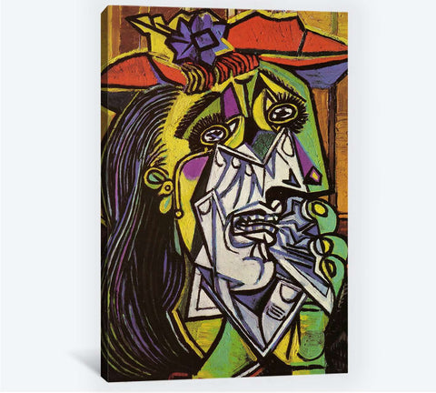 Pablo Picasso, Weeping woman - Canvas print