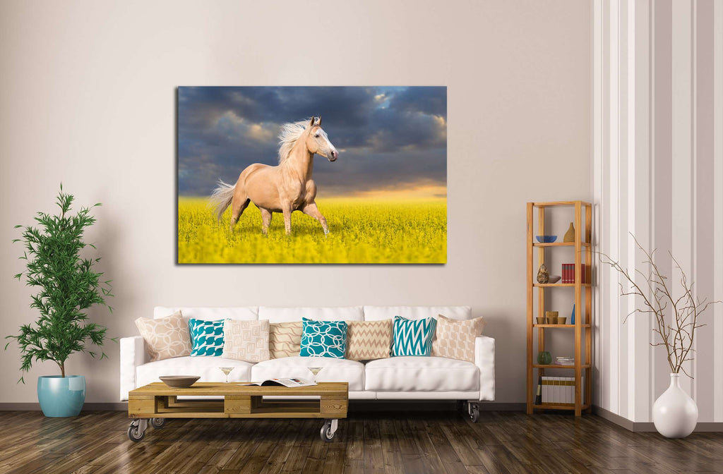 Horse multi panel canvas №5010