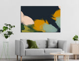 School Of Fish Abstract №04402 Ready to Hang Canvas Print