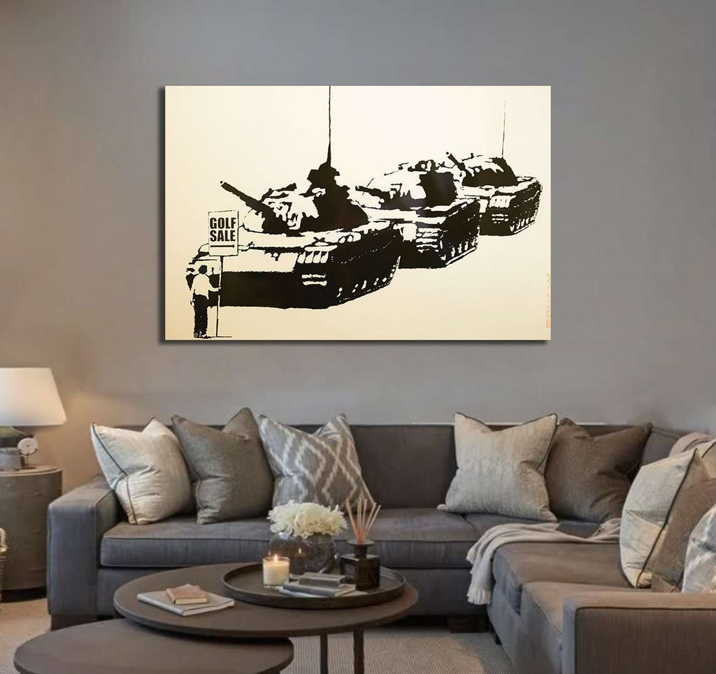 Banksy Golf sale for sale - Canvas print