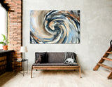 Cycle Abstract №04394 Ready to Hang Canvas Print