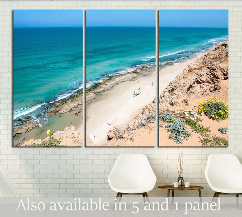 A beautiful landscape of the sea №2853 Ready to Hang Canvas Print