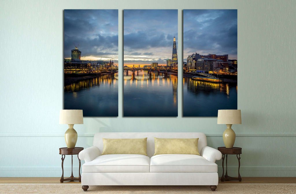 A view from the london №555 Ready to Hang Canvas Print