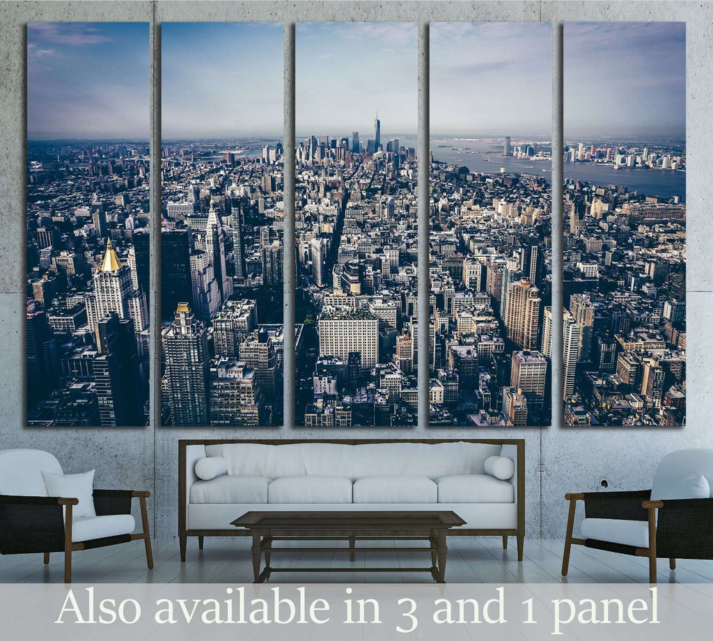 Above NYC №2721 Ready to Hang Canvas Print