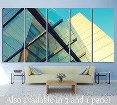 Abstract architecture №1058 Ready to Hang Canvas Print