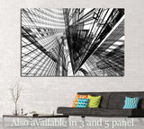 Abstract architecture №1585 - canvas print wall art by Zellart