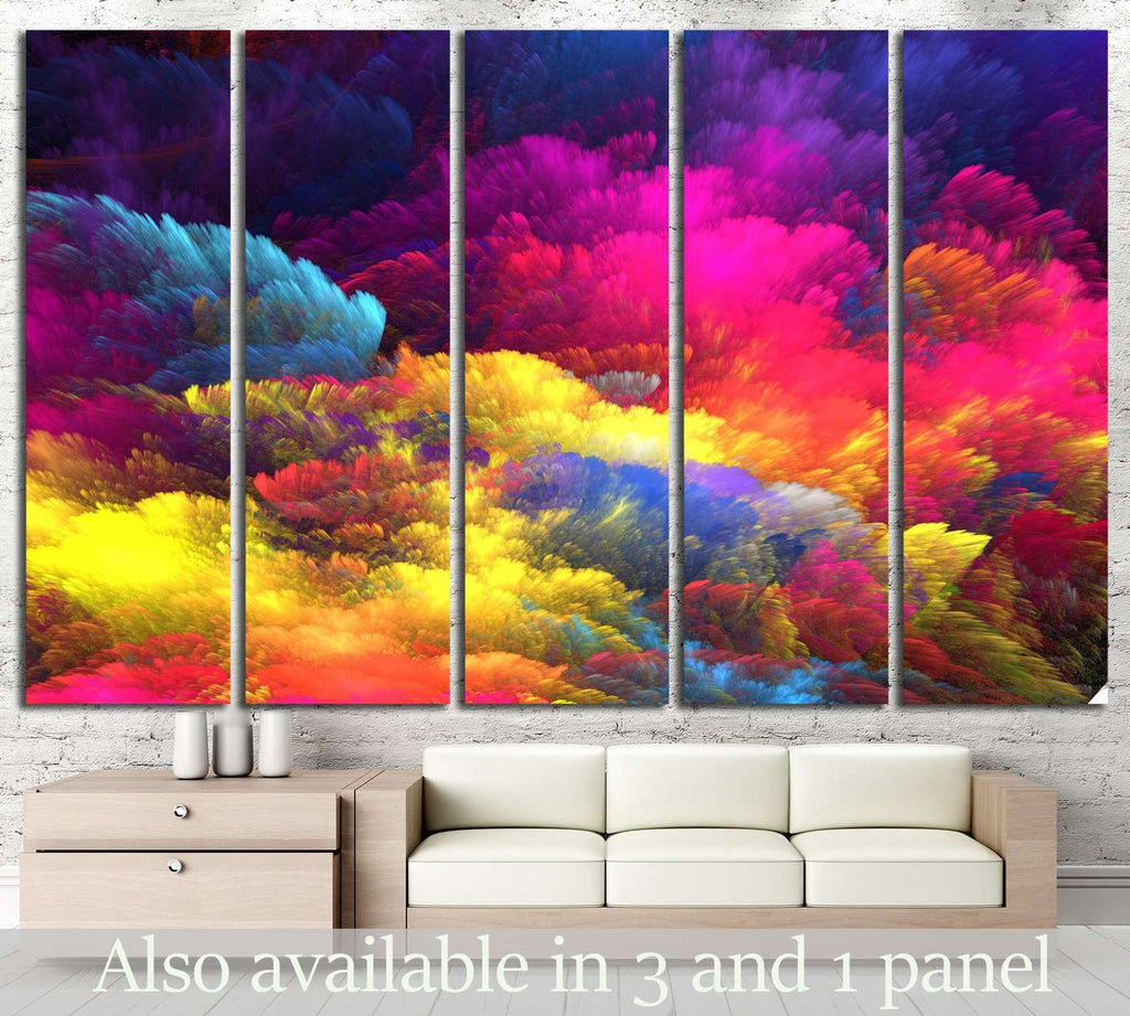 Abstract Background №1041 Ready to Hang Canvas Print