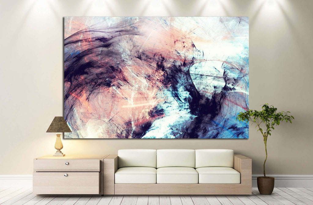Abstract color dynamic №1048 - canvas print wall art by Zellart