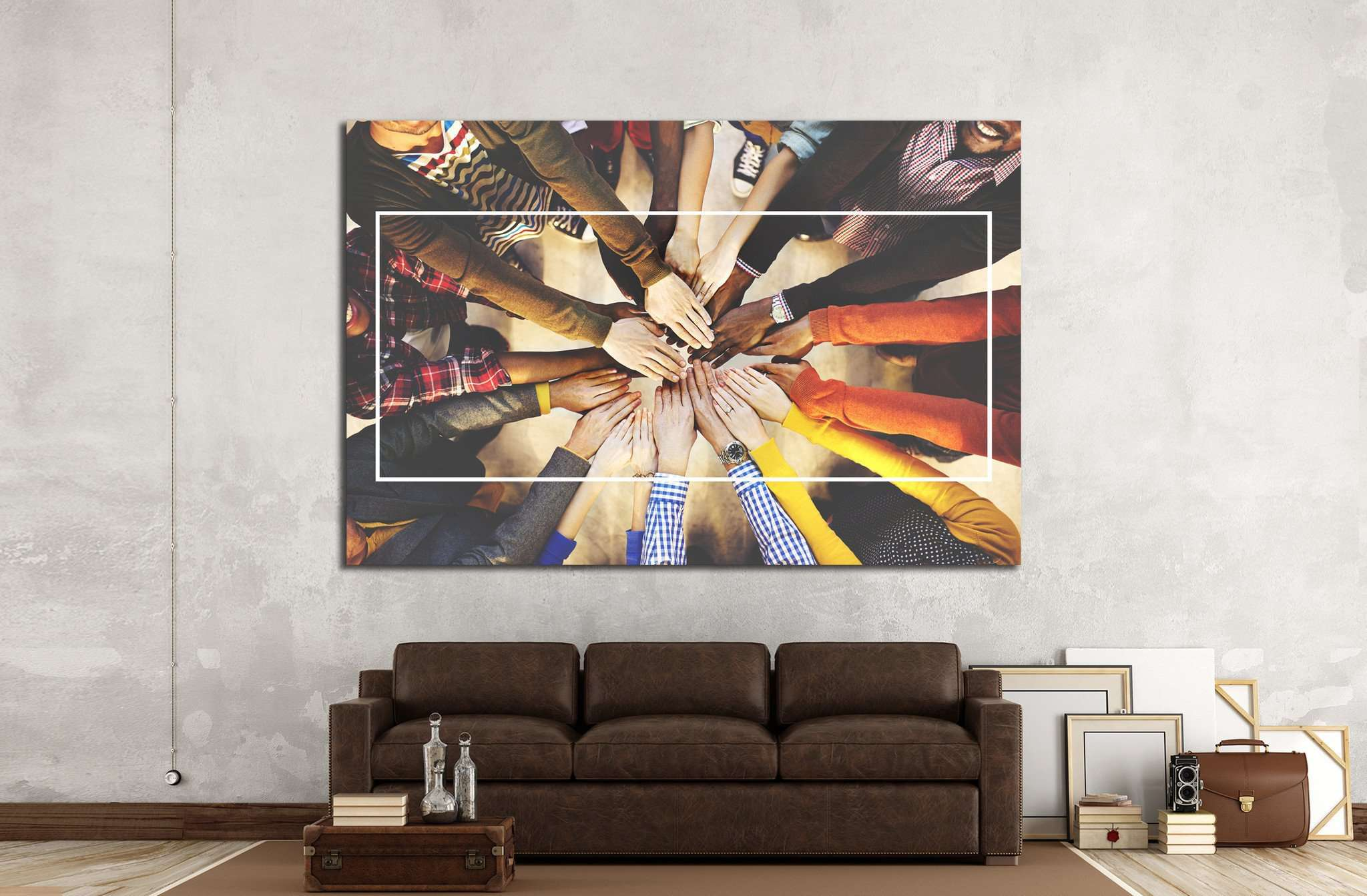 Abstract Concept №1449 - canvas print wall art by Zellart