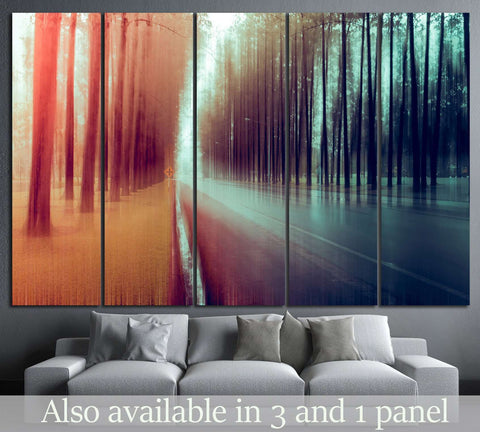 abstract forest №599 Ready to Hang Canvas Print