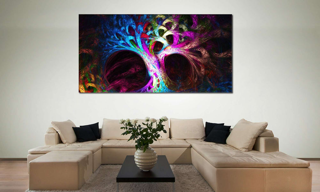 Abstract Tree №841 Ready to Hang Canvas Print