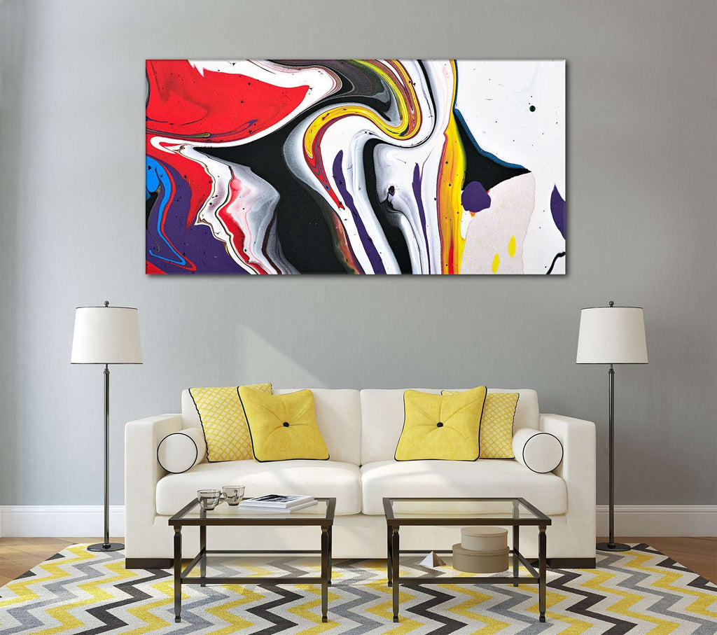 Abstract Wall Art №784 Ready to Hang Canvas Print