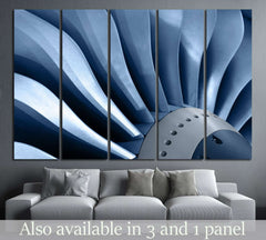 Air Turbine №170 Ready to Hang Canvas Print