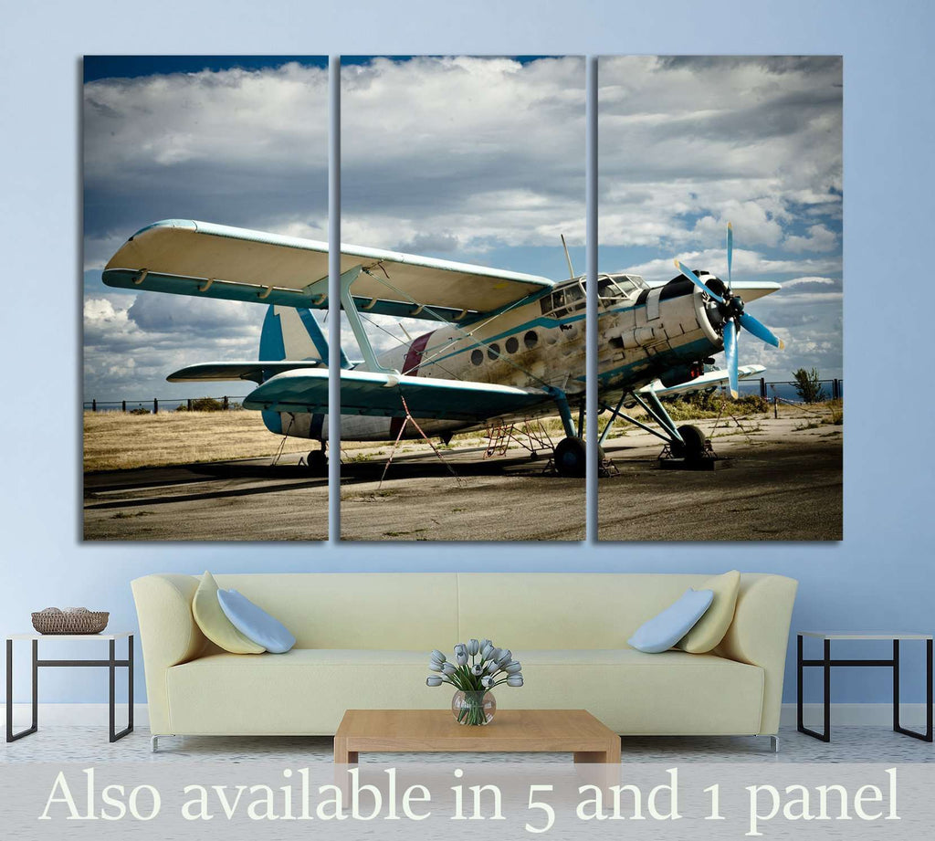 Aircraft №142 Ready to Hang Canvas Print
