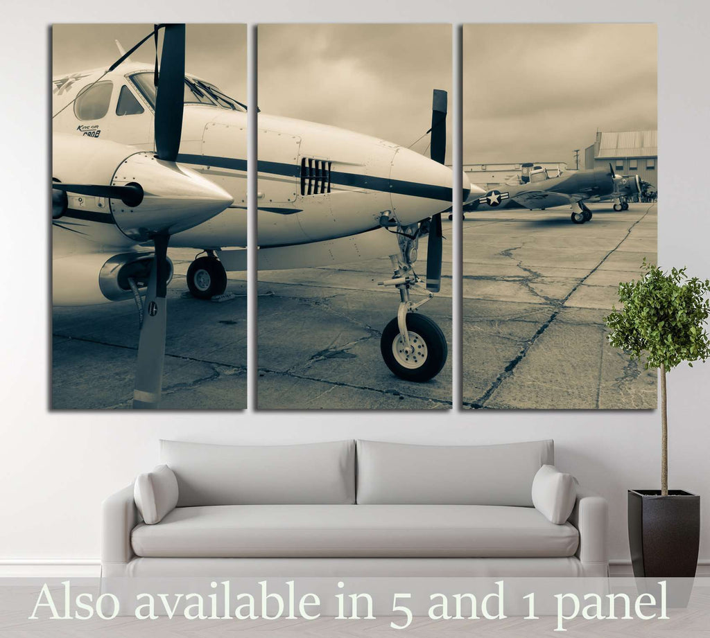 Aircraft №147 Ready to Hang Canvas Print